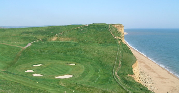 The 6th at Bridport Golf Club