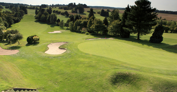 The 17th at Salisbury and South Wilts Golf Club