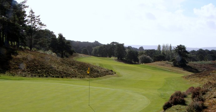 Parkstone, the 17th Green, Looking Back
